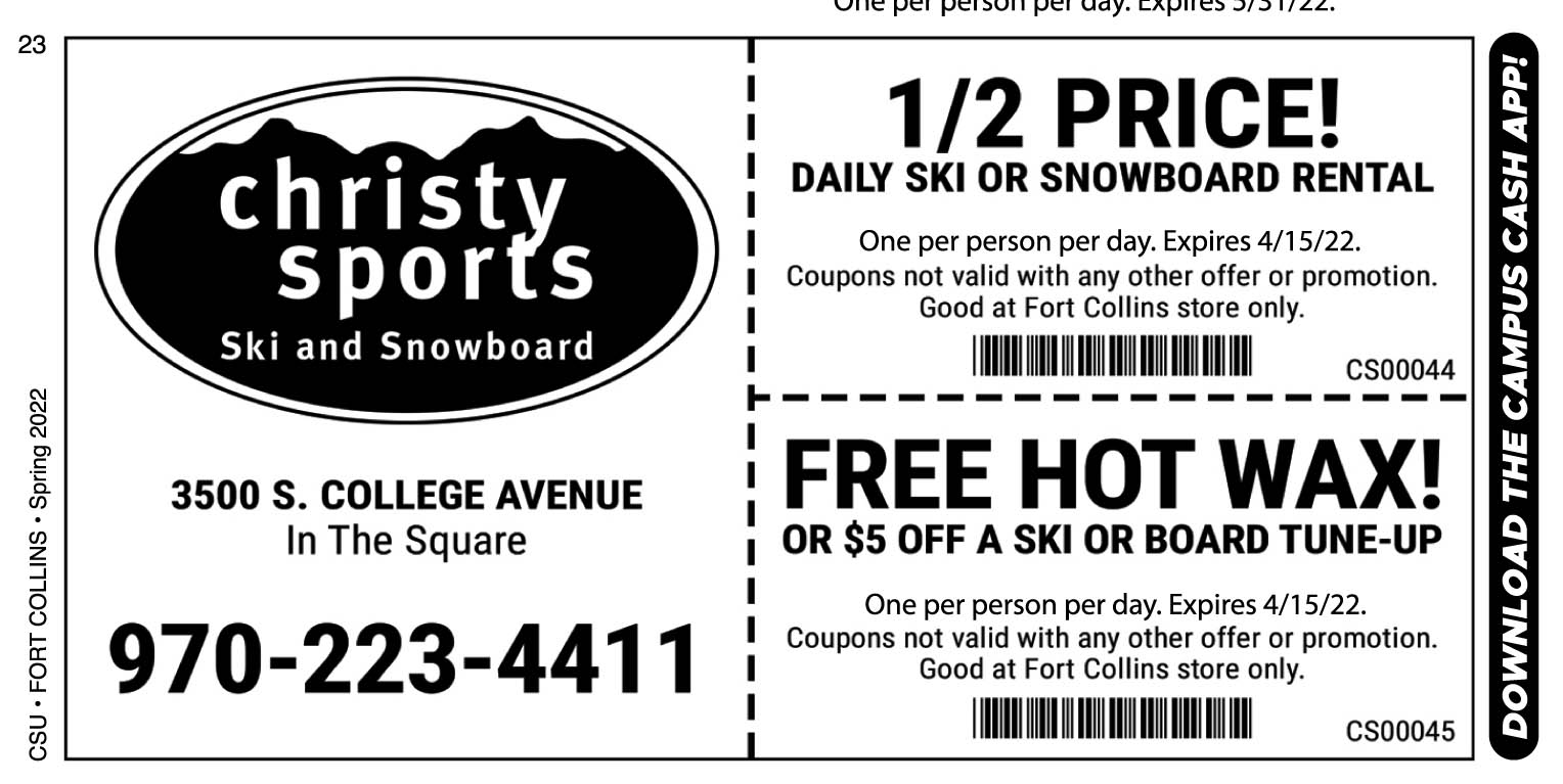 Csu coupon code